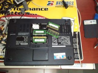 Laptop RAM Memory upgrade in our shop.