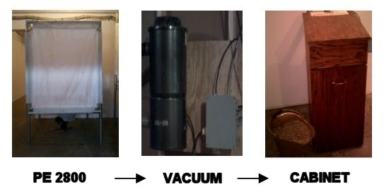 Wood Pellet Vacuum System
